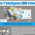 Infografik: Die 7 häufigsten SEO-Fehler (+ Infographic: 3 Major Reasons Why Web Design and Ad Agencies Need SEO Coaching)